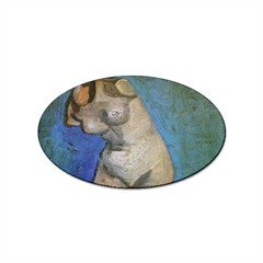 Plaster Statuette of a Female Torso 2 By Vincent Van Gogh Oval ()