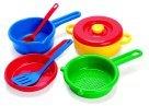 Dantoy Play Pots and Pans, 7 Piece Set