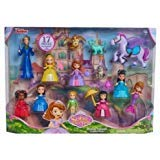 Sofia The First Deluxe Friends Collection 17 Piece ()