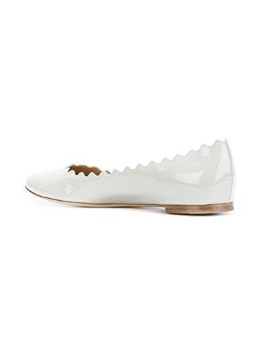 Chloé Damen C17w16080300 Weiss Leder Ballerinas