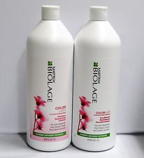 Biolage ColorLast Shampoo and Conditioner Liter Duo, 33.8 Oz/1 liter