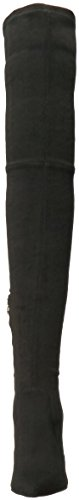 Over Boots Black Dolce Knee Women's Vita Emmy Suede The fYnxwAtTRq