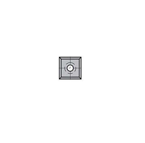 Leman - 10 Plaquettes ré versibles au carbure 14x14x2mm 4 coupes - 0014.1420.00