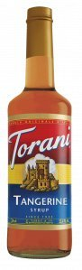Torani Tangerine 750 mL (pack of three) (Syrup Tangerine Torani)