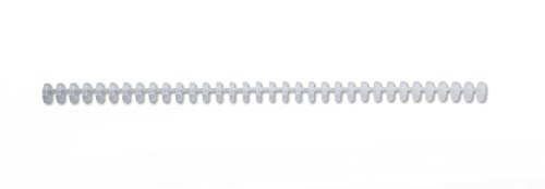 GBC ProClick Binding Spines 12mm A4 Frosted Clear (95 Sheets Capacity, Pack of 100) -