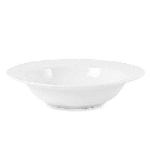 Everyday White® by Fitz and Floyd® Rim 16 oz. Round Porcelain Soup Bowl