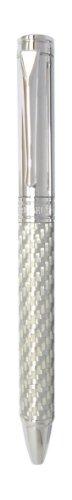 Pierre Belvedere Power Titanium Ballpoint Pen, Silver (071910)