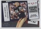 super bowl iii ticket - Willie Wood (Football Card) 2010 Playoff Contenders - Super Bowl Tickets #3