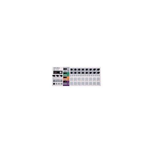 Arturia BeatStep Pro Controller & Sequencer with Zorro Sounds Instrument Cloth