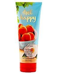 Bath and Body Works Get Happy White Peach Sangria Body Cream 8 Ounce
