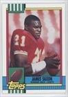 James Saxon (Football Card) 1990 Topps - [Base] - With Disclaimer #259