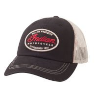 Motorcycle Hat (Indian Motorcycle Quality Trucker Hat)