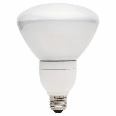 GE Lighting Compact Fluorescent Floodlight, 26 watt, 120 volt, R40, Medium Screw (E26) Base, 82 CRI