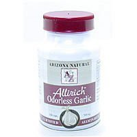 - Arizona Natural Products Allirich Garlic 500mg 250 Capsules ( Pack Of 5 )