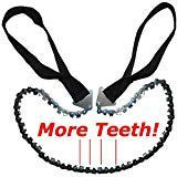 Hand Saw - Pocket Chainsaw Blade - Hand Chain Saw with More Cutting Teeth. Essential for- Survival...