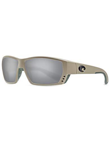 Costa Tuna Alley Nylon Frame Gray Silver Mirror Glass Lens Men's Sunglasses TA248OSGGLP (Sunglasses Gray Silver Mirror)
