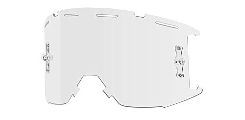 Mtb Replacement (Smith Squad MTB Goggle Replacement Lens Clear AF, One Size)