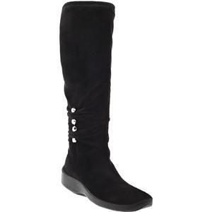 Womens Arcopedico Boots Black 4071 Suede Liana EHf44wq