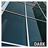 BDF NA20 Window Film Privacy and Sun Control N20, Black (Dark) - 24in X 14ft