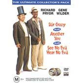 RICHARD PRYOR / GENE WILDER - 3 MOVIES ULTIMATE C0LLECTOR'S PACK (See No Evil, Hear No Evil; Stir Crazy; Another You) [PAL/REGION 4 DVD. Import-Australia] (Kevin Spacey See No Evil Hear No Evil)