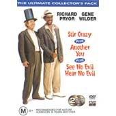 RICHARD PRYOR / GENE WILDER - 3 MOVIES ULTIMATE C0LLECTOR'S PACK (See No Evil, Hear No Evil; Stir Crazy; Another You) [PAL/REGION 4 DVD. Import-Australia]