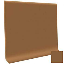 Pinnacle Rubber Cove Base 4''X1/8''X120' Coil - Bronze by Roppe