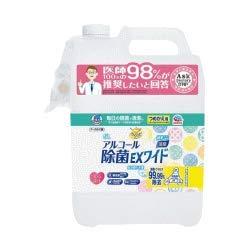 【アース製薬】ヘルパータスケ らくハピ アルコール除菌EXワイド つめかえ(5L)×5 B07PPBMJ38