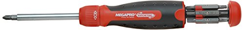 Megapro Marketing USA NC 211R2C36RD Ratcheting Screwdriver ()