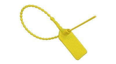 Yellow Pull-Tite Security Seal (Package of 100) (Security Pull)