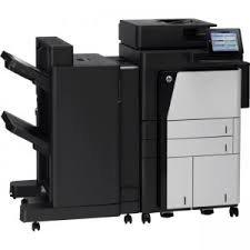 Hewlett Packard D7P68A#BGJ Mono Laser - HP LaserJet Enterprise Flow M830z Mono MFP (55 ppm) (1.5 GB) (11