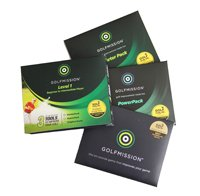 Great Golf Gift. GolfMission Level 1 Golf Improvement Box Set. NEW. Ideal for Juniors & Beginners