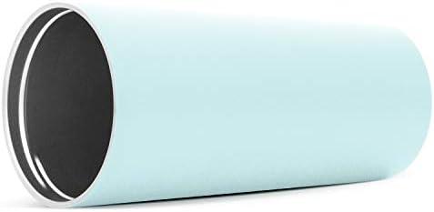 Botella Agua Acero Inoxidable Mujer u Hombre Abatible y con Pajita Taza Termica para Llevar Vaso Termico de Viaje 4 Horas Calientes 16 Horas Frias Simple Modern Classic 590ml Termo Cafe con 2 Tapas