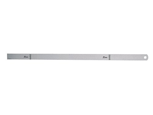 Starrett 667M-3 Steel Thickness Feeler Gage, 0.03mm Thickness, 12.7mm Width, 300mm (Starrett Thickness Gage)