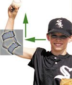 Throwmax Flexible Elbow Brace (Small Right Arm) by Throwmax (Image #2)