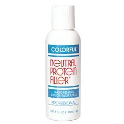 Colorful Products Neutral Protein Filler 4 oz. (Best Hair Filler Products)