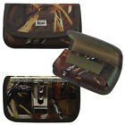Horizontal Camouflage Cash and Credit Card Case with hook and loop closure, - Pattern Droid Cover Razr