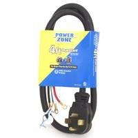 Power Zone 4 30Amp 10 4 Dryer Cord Black 770768