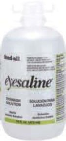 Sperian Saline Refill Bottles for Wall Stations 16 oz. (475mL) by Fend-All (Image #1)