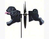 Premier Designs PD25082 Black Pug Petite (Pug Garden)