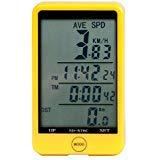 Bicycle Odometer Speedometers Wireless Waterproof Bike Computer with LCD Screen for Tracking Riding Speed