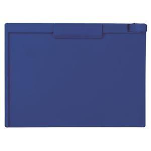 生活日用品 (まとめ買い) クリップボード A4ヨコ SSS-3057P-15ネイビーブルー 1枚 【×15セット】 B074JSTKJS