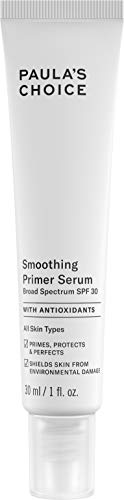 - Paula's Choice RESIST Smoothing Anti-Aging Face Primer SPF 30 | UVA & UVB Protection | Licorice Extract & Chamomile | 1 Ounce
