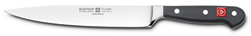 - Wusthof 4522-7/20 CLASSIC Carving Knife, One Size, Black, Stainless Steel