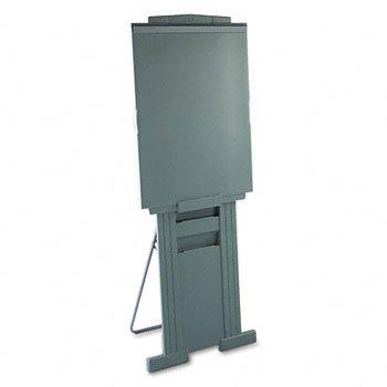 QUARTET Duramax Portable Presentation Easel, 72'' High, Plastic, Gray (Case of 2)
