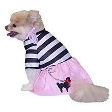 DOGGIDUDS Poodle Girl Dog Halloween Costume Medium 14-17