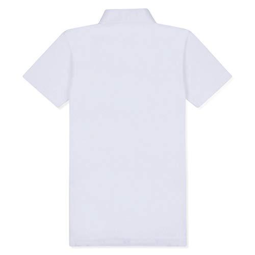 Musto Manga Color Para Talla Polo Mujer 14 Corta Blanco De Performance Axrq6A