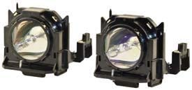 Twin Pack Lamp /& Housing Projector Tv Lamp Bulb by Technical Precision Replacement for Panasonic Pt-dz6700ul