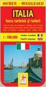 Italia Harta Turistica Si Rutiera Amazon Co Uk Huber Niculescu