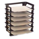 Rubbermaid Regeneration Plastic Letter Tray, 2-pack, 12 trays (86028)