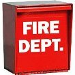 Photo - Eagle 2000 Fire Department Lock Box with Pad Lock Hole